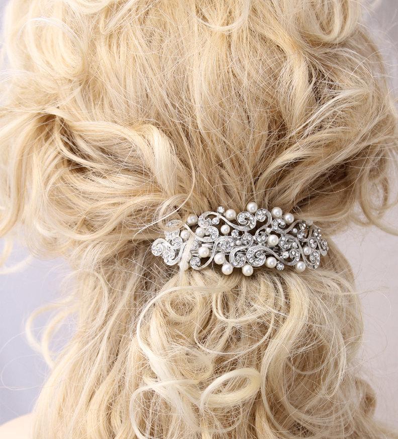 crystal_pearl_barrette_original wedding_hair_barrette_small bridal_hair_barrette_small bridal_hair_clip_small