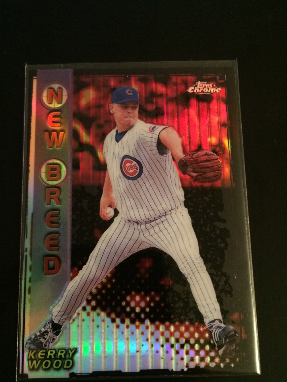 99 Topps Chrome New Breed Kerry Wood Refractor From Peps Collectibles