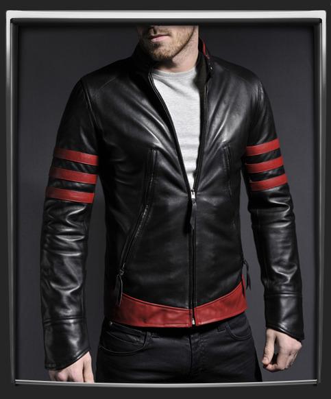 Men S Stylish Retro Leather Jacket Mens Biker Jackets On