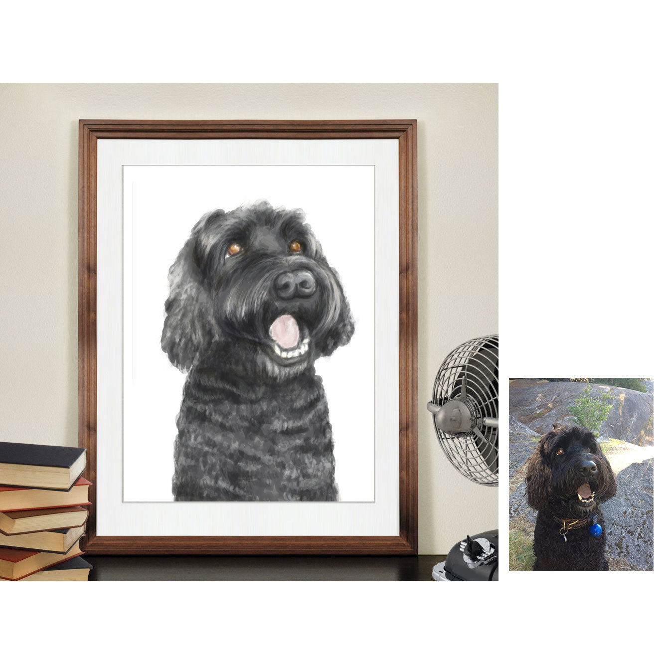 e97138406101 Open Your Own Store · Custom Dog Painting, Pet portrait from your photo, Custom  Pet Painting, Custom Cat