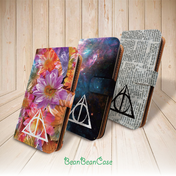 newest collection 9a9fb 3cf1b Deathly Hallows Harry Potter flip leather wallet case for iPhone 7/7  Plus/6s/6/5/5s/5c, moto X moto X2, samsung galaxy note 4 5 S5 S6 edge (L15)  from ...