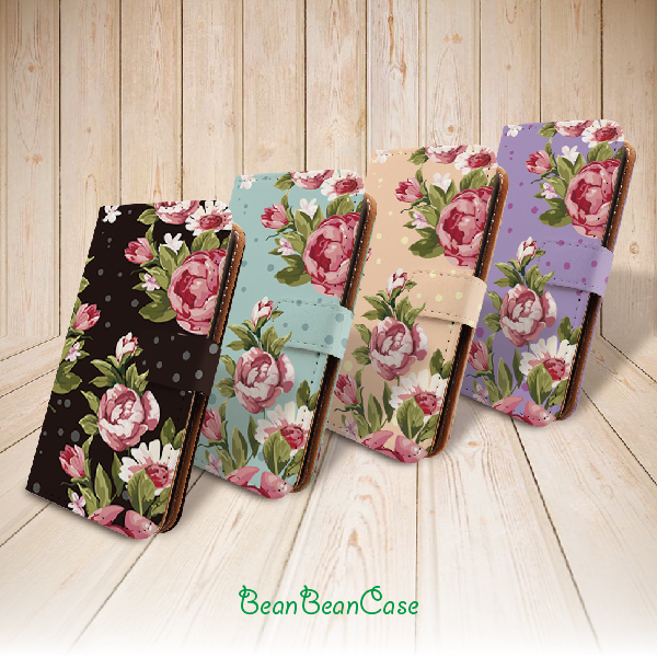 8b749b7d2629 vintage retro flower rose wallet flip cover leather case for iPhone X/7/7  Plus/6s/6/5/5s/5c, moto X X2, galaxy note 4 5 S5 S6 edge (E06) from ...