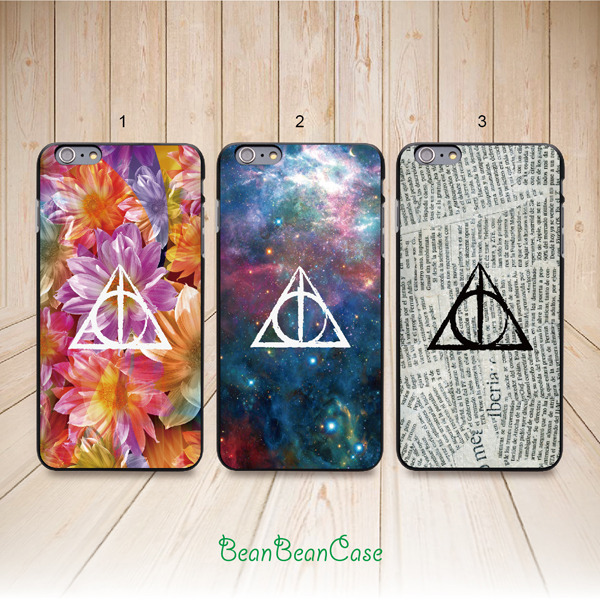 reputable site 40ca5 72ed0 Deathly Hallows Harry Potter case for iPhone 6s/6 iPhone 5/5s/5c, Samsung  S6/Note5, Sony, LG Nexus, Nokia Lumia, HTC One M8/M9, Moto E(L15) from ...
