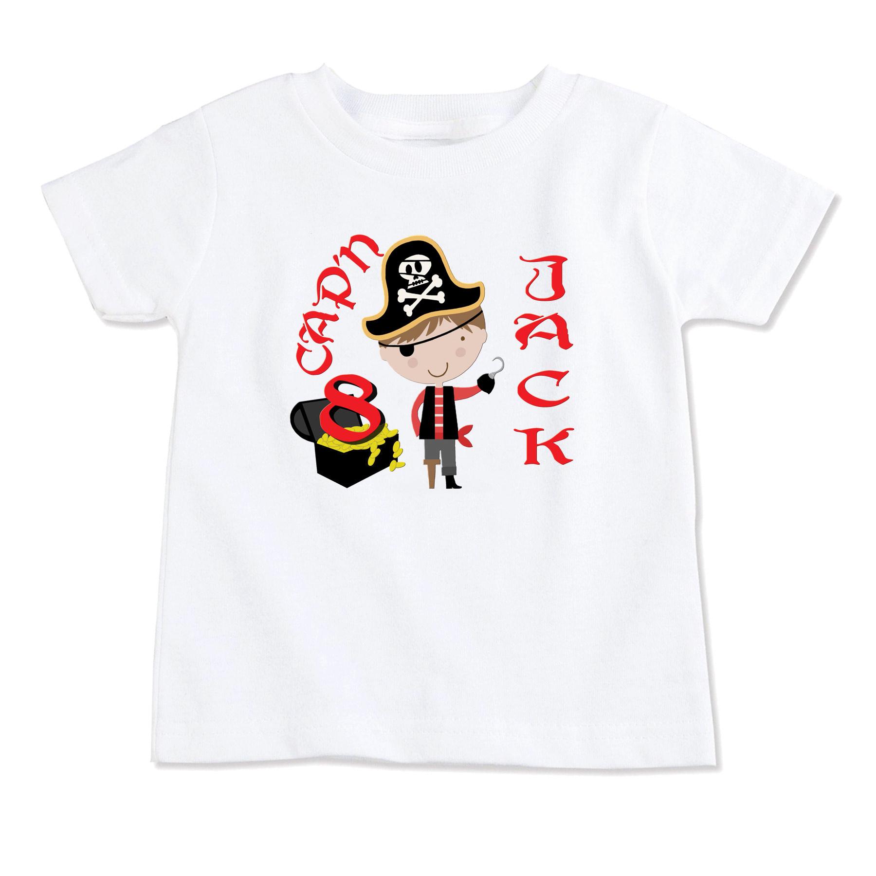 25e162b2c Pirate Boy T-Shirt,Pirate Girl T-Shirt,Birthday T-Shirt,Party T ...