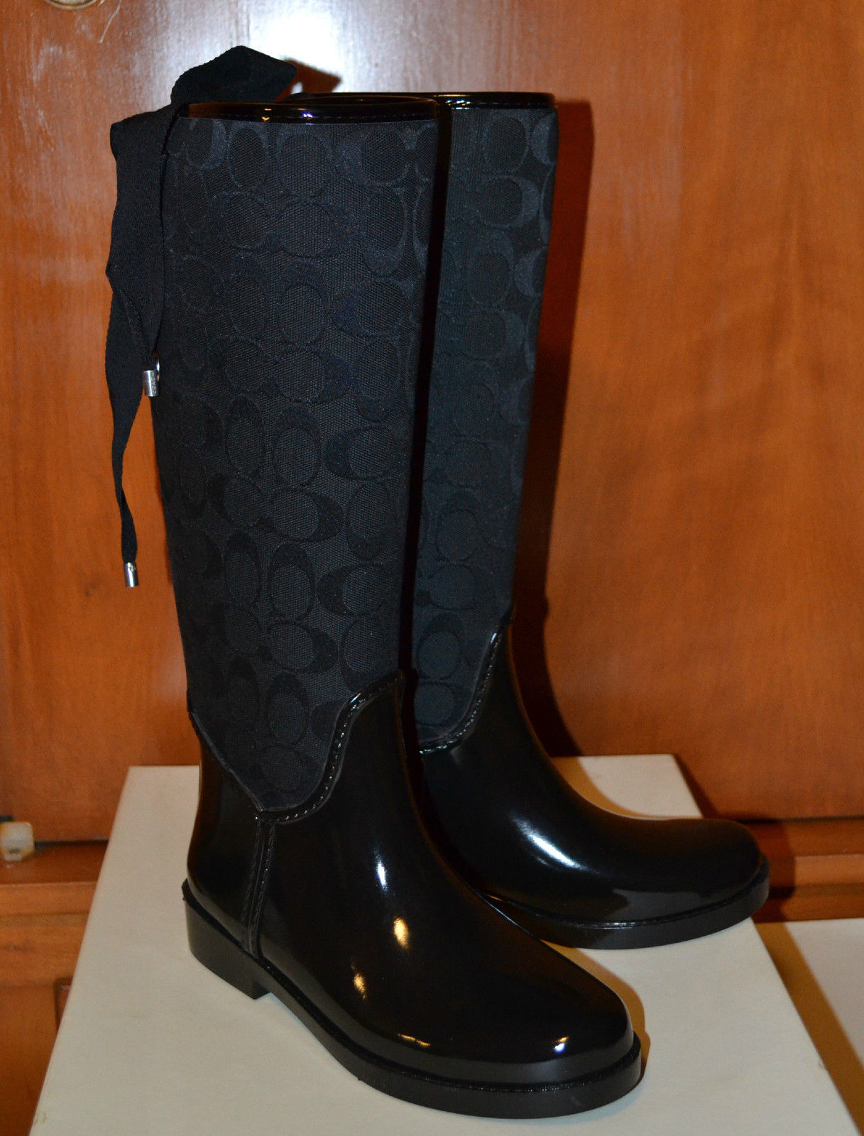 Gorgeous & Fashionable ~ 100% AUTHENTIC COACH TRISTEE RAIN BOOT ...