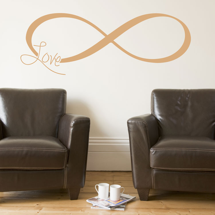 Inspirational Infinity Symbol Faith Love Strength Family Wall