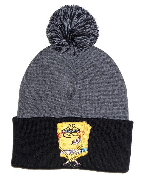 011c7b459 PomPom Beanie  SpongeBob  on Storenvy