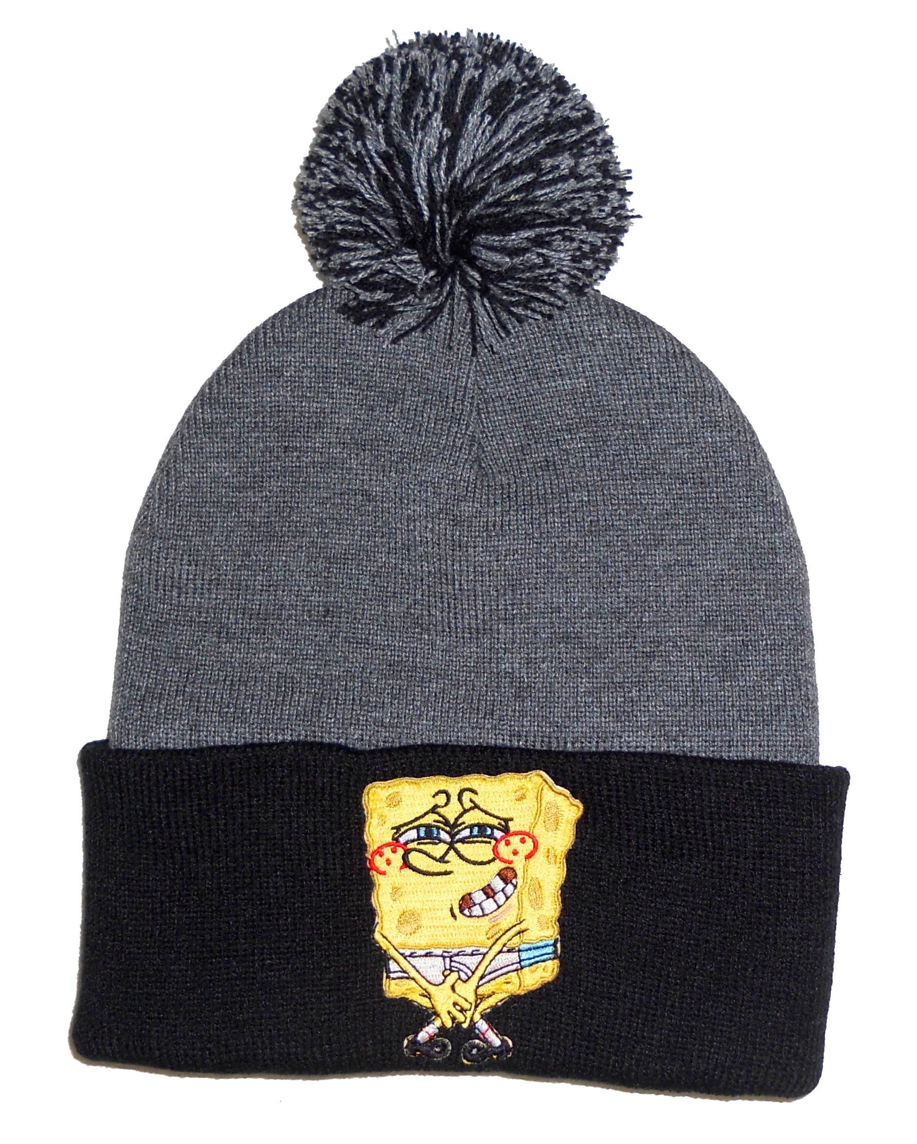 1c4b0154631d5 PomPom Beanie  SpongeBob  on Storenvy