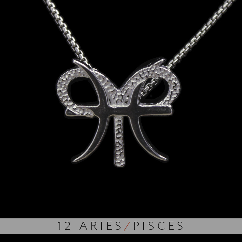The aries and pisces silver unity pendant on storenvy 12 20aries 20 26 20pisces original aloadofball Choice Image