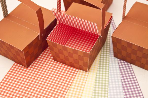 picnic basket favor box diy printable piggy bank parties