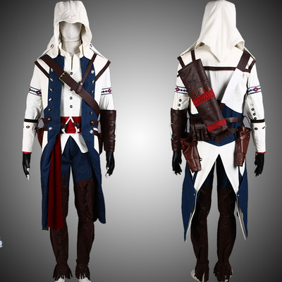 Assassin S Creed 3 Connor Cosplay Costume Outfit Cosplayfield