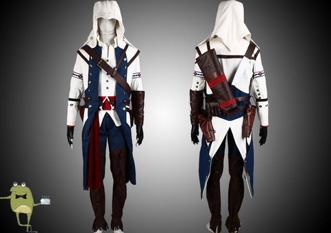 Assassin S Creed 3 Connor Cosplay Costume Outfit On Storenvy