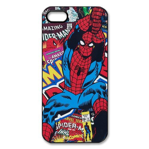 online store be0ab a5fbe Yark Marvel Comics Super Hero Spider Man Movie durable plastic mobile cover  for iphone 4 4s 5 5s 6 6 plus Phone Cases