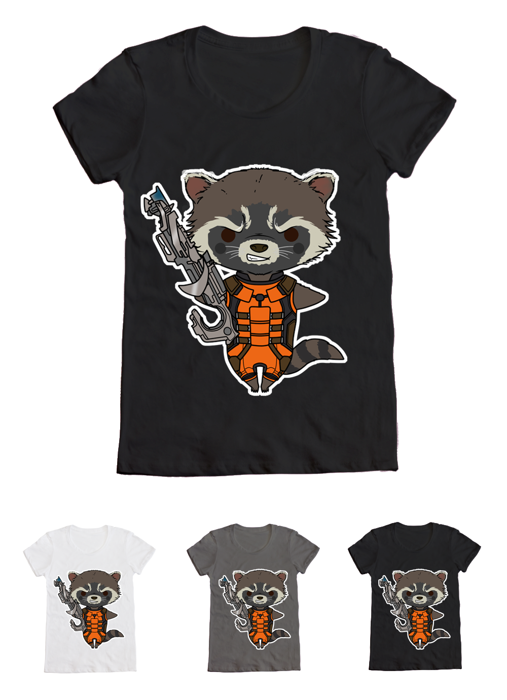 389eb63e59 GotG - Rocket Raccoon - T-Shirt