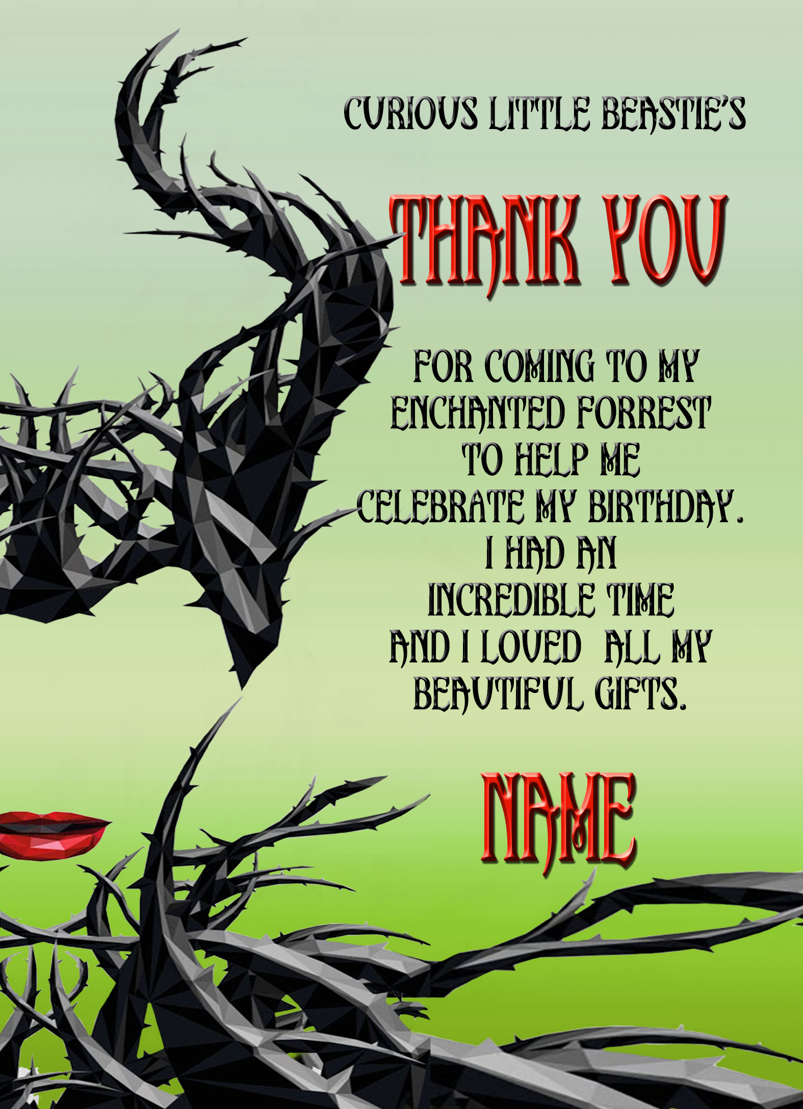Maleficent Birthday Card Choice Image Free Birthday Cards