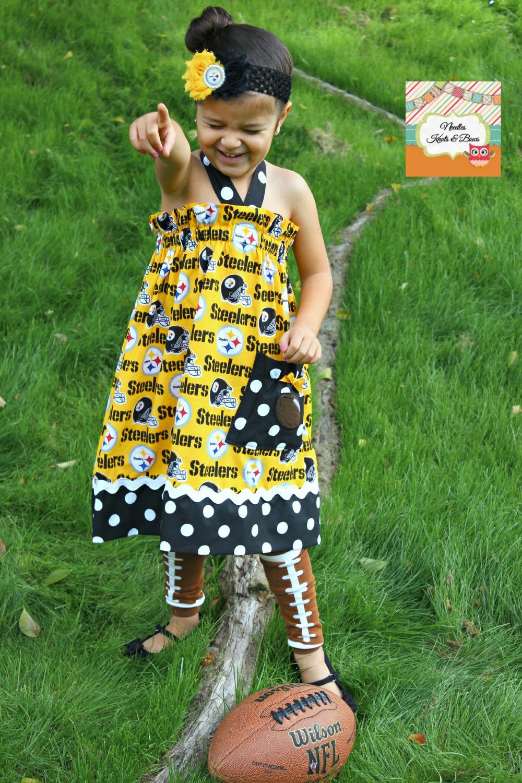Girls Pittsburgh Steelers Gameday Dress 001e55b3b