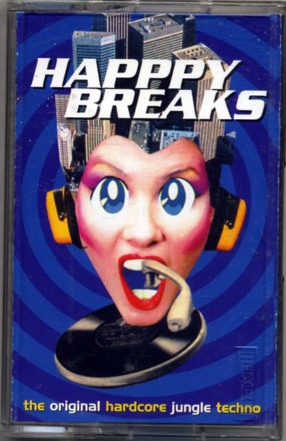 Happy Breaks, Jungle Compilation (Cassette,1995)(Jungle) from Fresh  Produce, L A