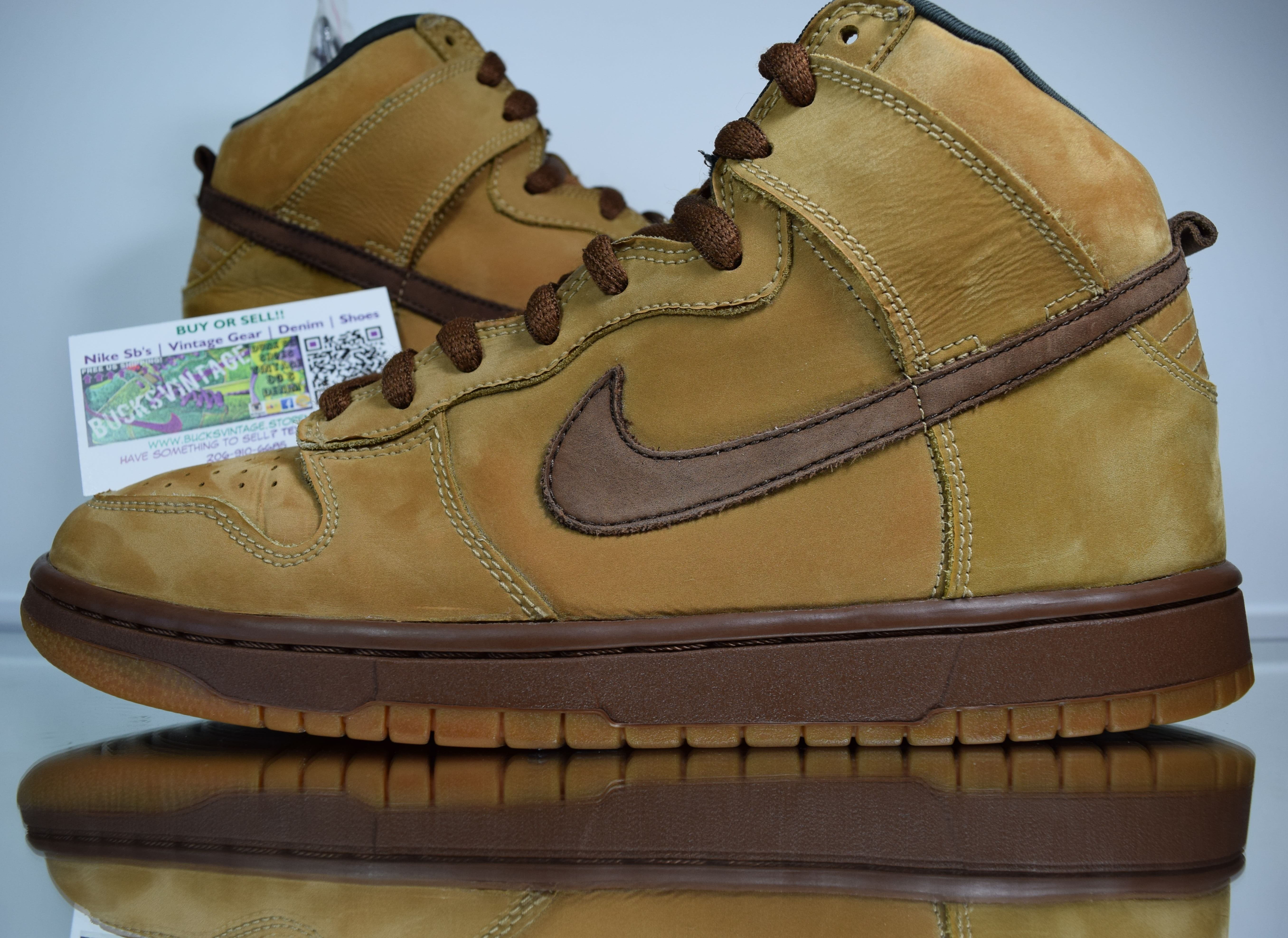 d3ac4ffe Size 9 | 2002 Nike Dunk SB MAPLE High 305050-221 on Storenvy