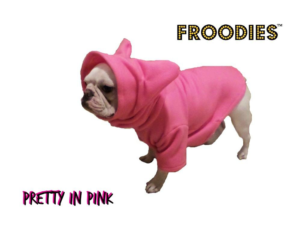 0e31f57fa40 French Bulldog Boston Terrier Pug Dog Froodies Hoodies Pink Diva Fleece  Jacket Sweatshirt Coat on Storenvy