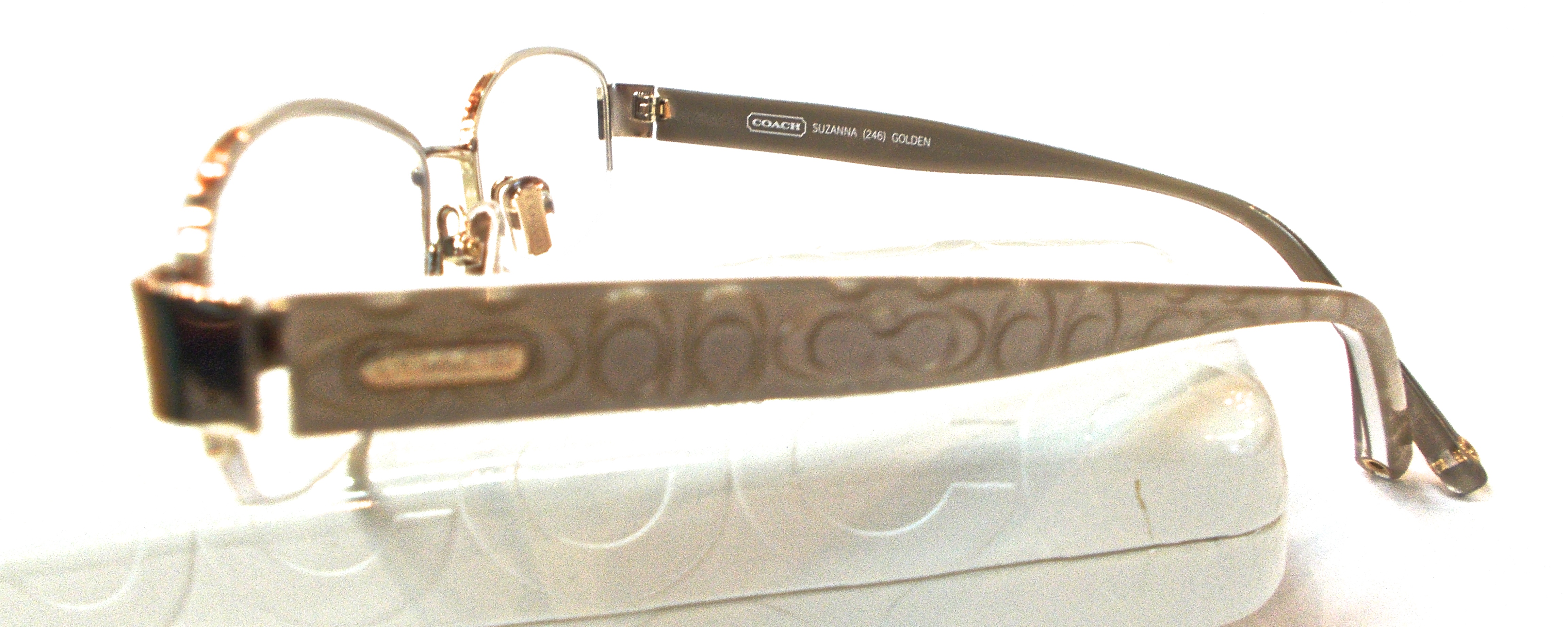 33b135bb920 Coach Semi Rimless Glasses