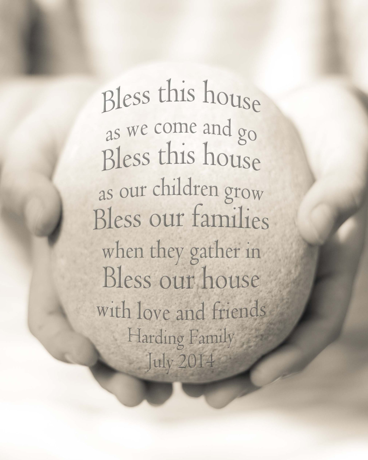 New Home Print Personalized Housewarming Gift Personalized New Home Gift House Blessing Print