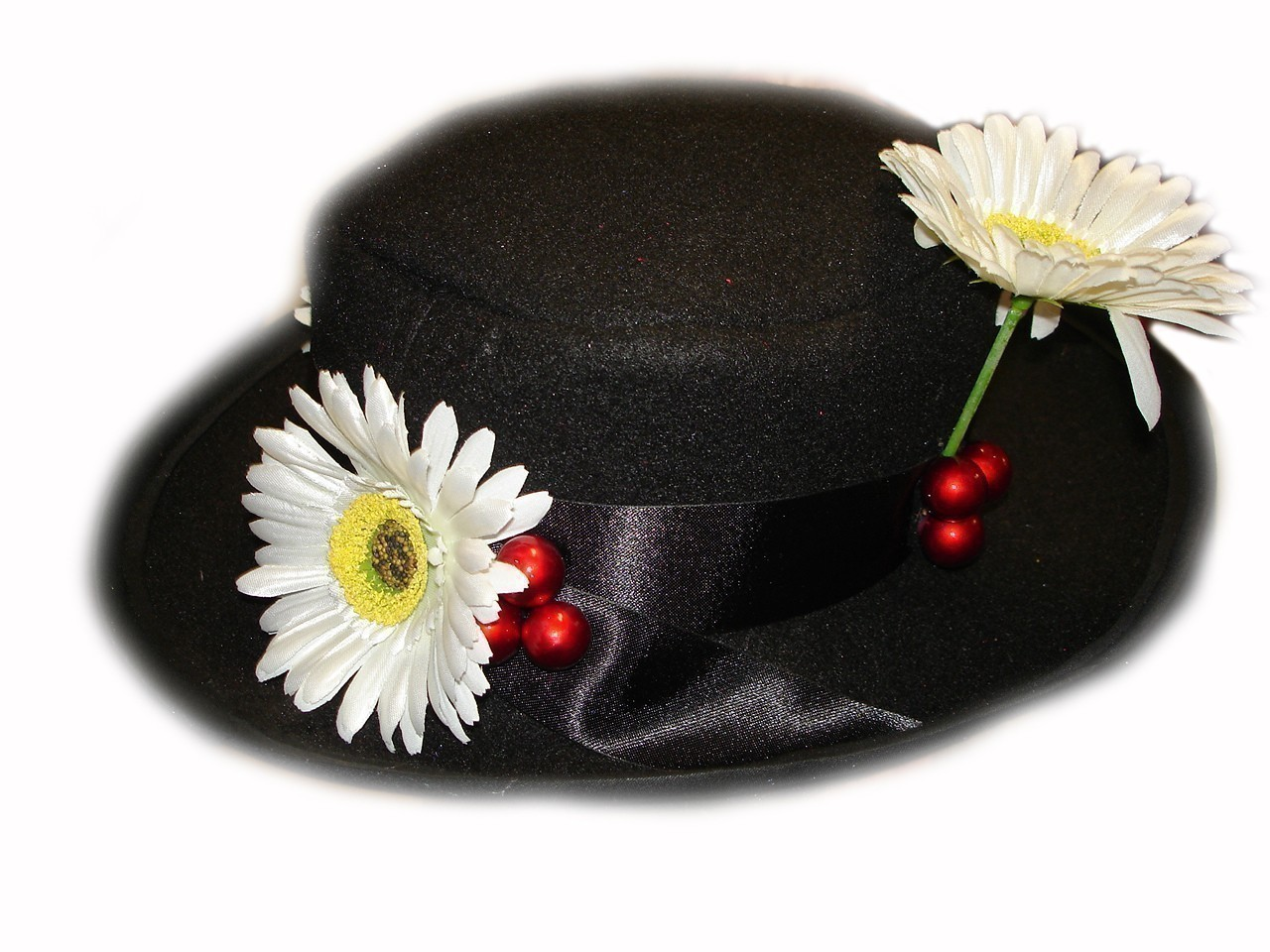 Custom Boutique Mary Poppins Nanny S Black Hat Magical Attic
