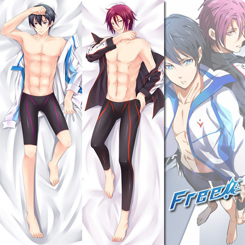 Brand New Haruka And Rin Free Dakimakura Hugging Body