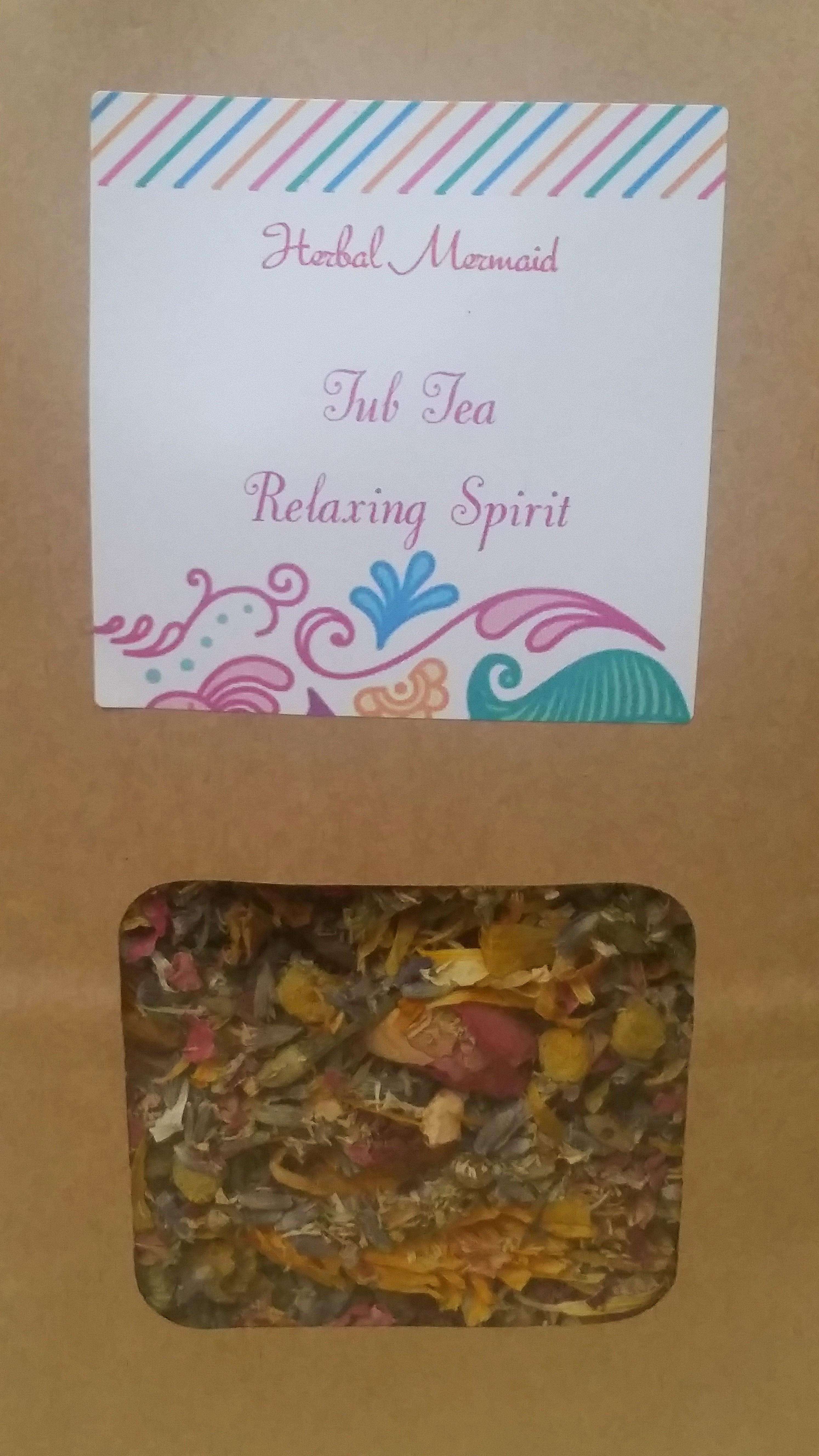 Rejuvenating & Regenerating Bath Herbs from Herbal Mermaid Botanica