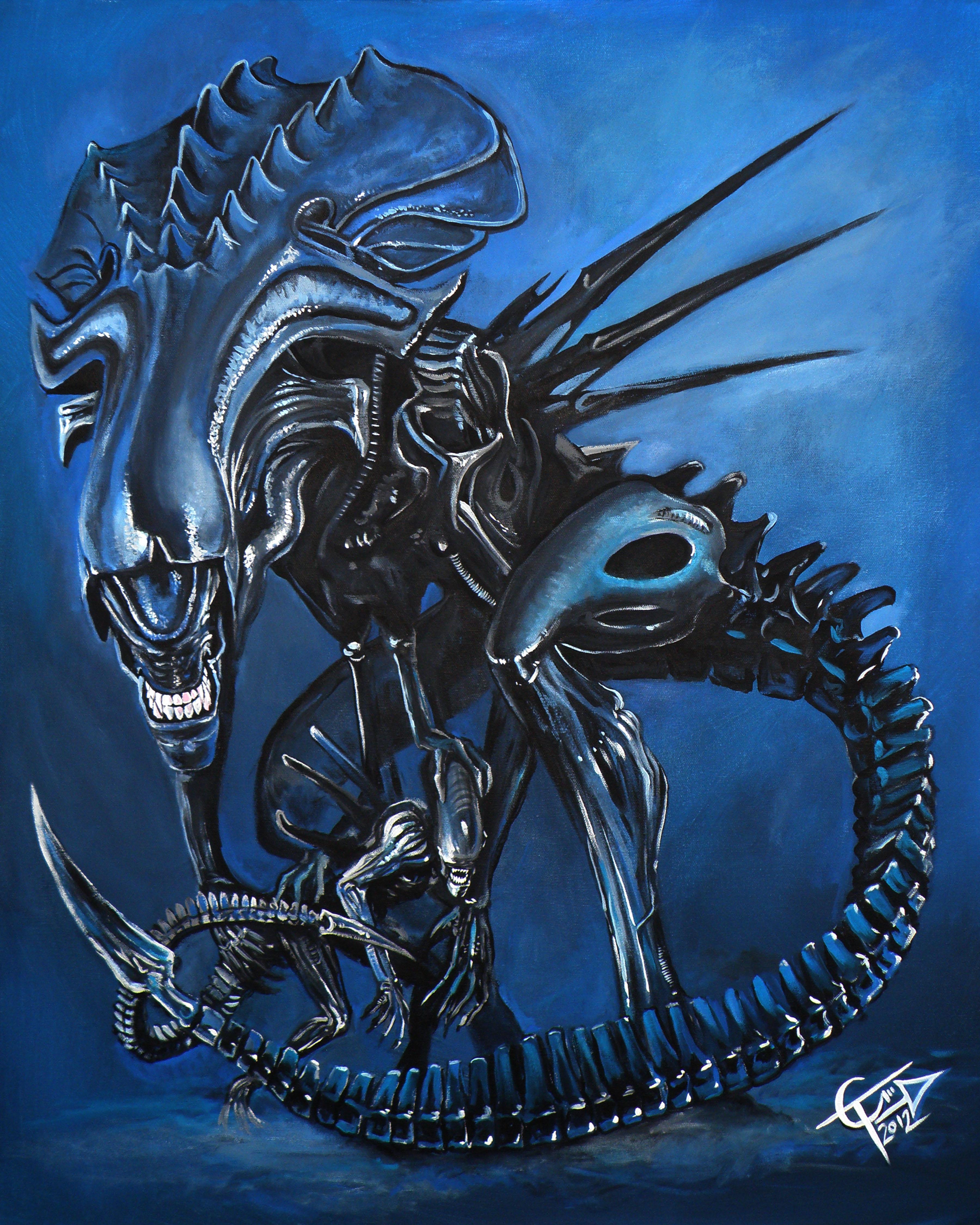 Alien Queen on Storenvy Xenomorph Queen