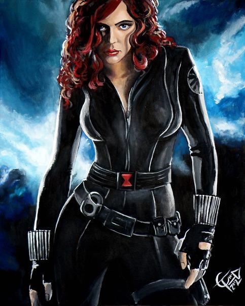 Black Widow on Storenvy