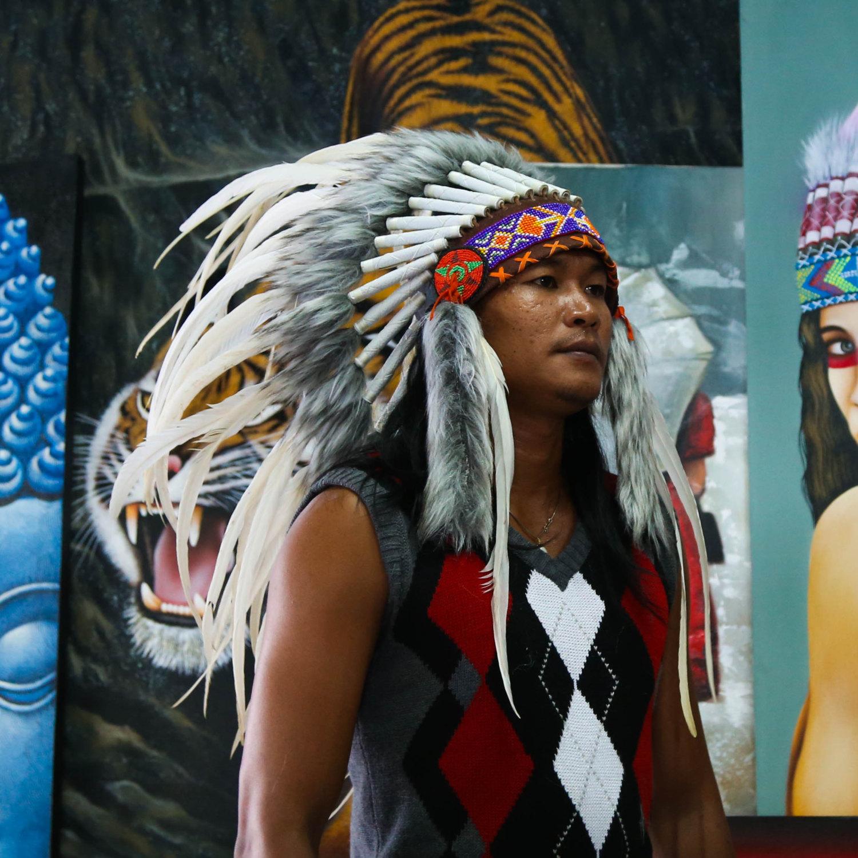 Indian Headdress Costume Kids