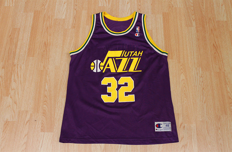 new style 38f9c e907d Karl Malone Jazz Jersey from SLAM! Vintage