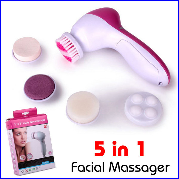 5 In 1 Electric Wash Face Machine Facial Pore Cleaner Body