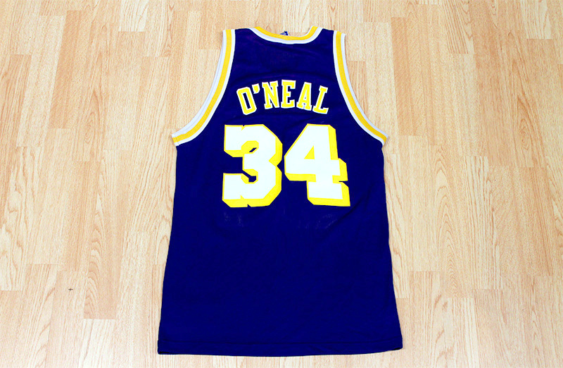 separation shoes 724d5 177fe Shaquille O'Neal Lakers Jersey from SLAM! Vintage