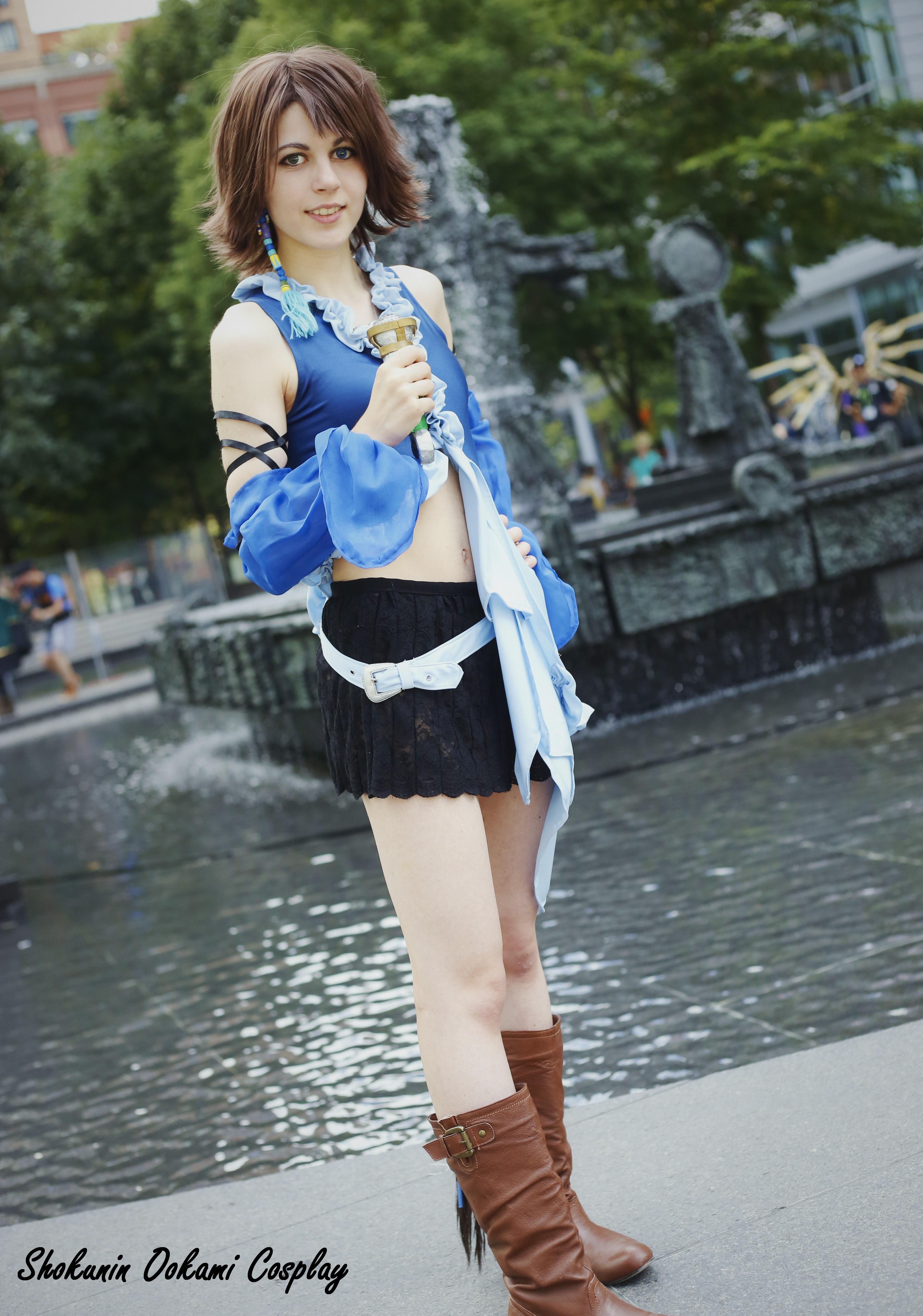 Cosplay Final Fantasi final fantasy x-2 yuna cosplay print on storenvy