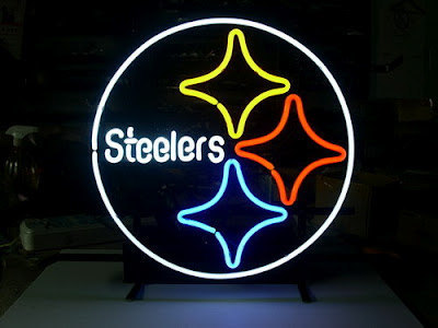 "Neon Signs For Sale >> New Budweiser NFL Pittsburgh Steelers Neon Sign 16""x 13"" - Handcrafted on Storenvy"