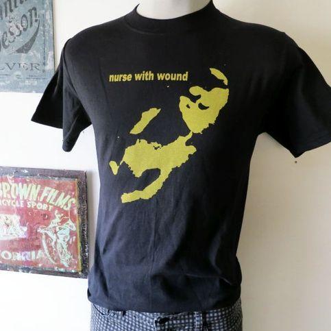 Nurse With Wound T Shirt Screen Print Short Sleeve Black
