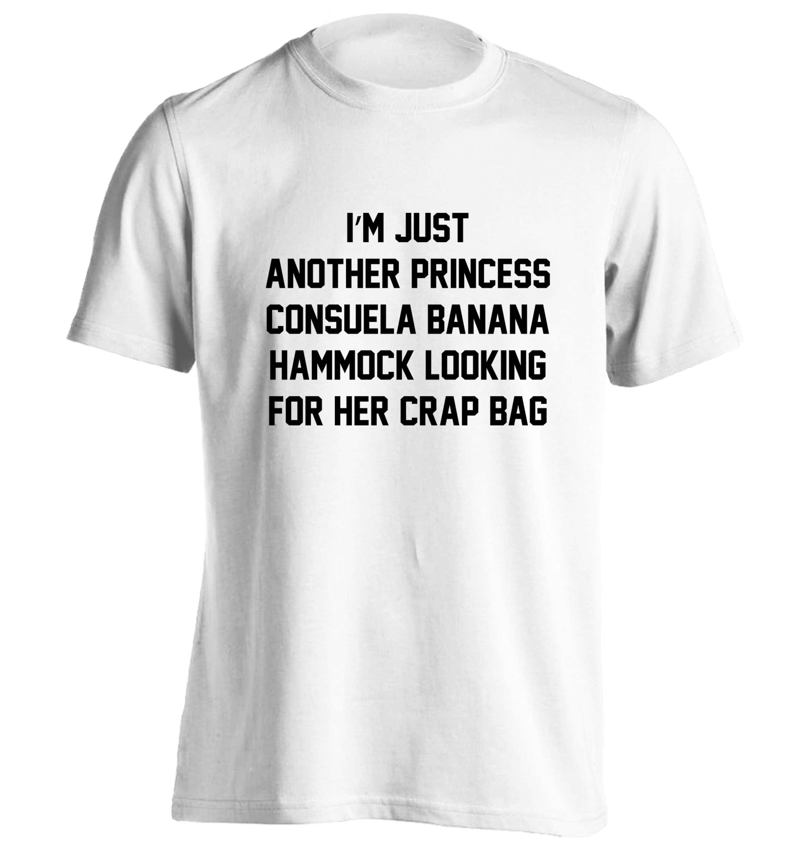 120 20white tshirt small i u0027m just another princess consuela banana hammock looking for her      rh   storenvy