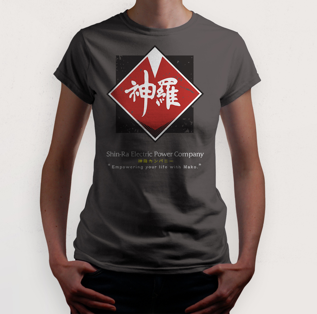 Shinra Company Final Fantasy T Shirt Ruwah Illustration