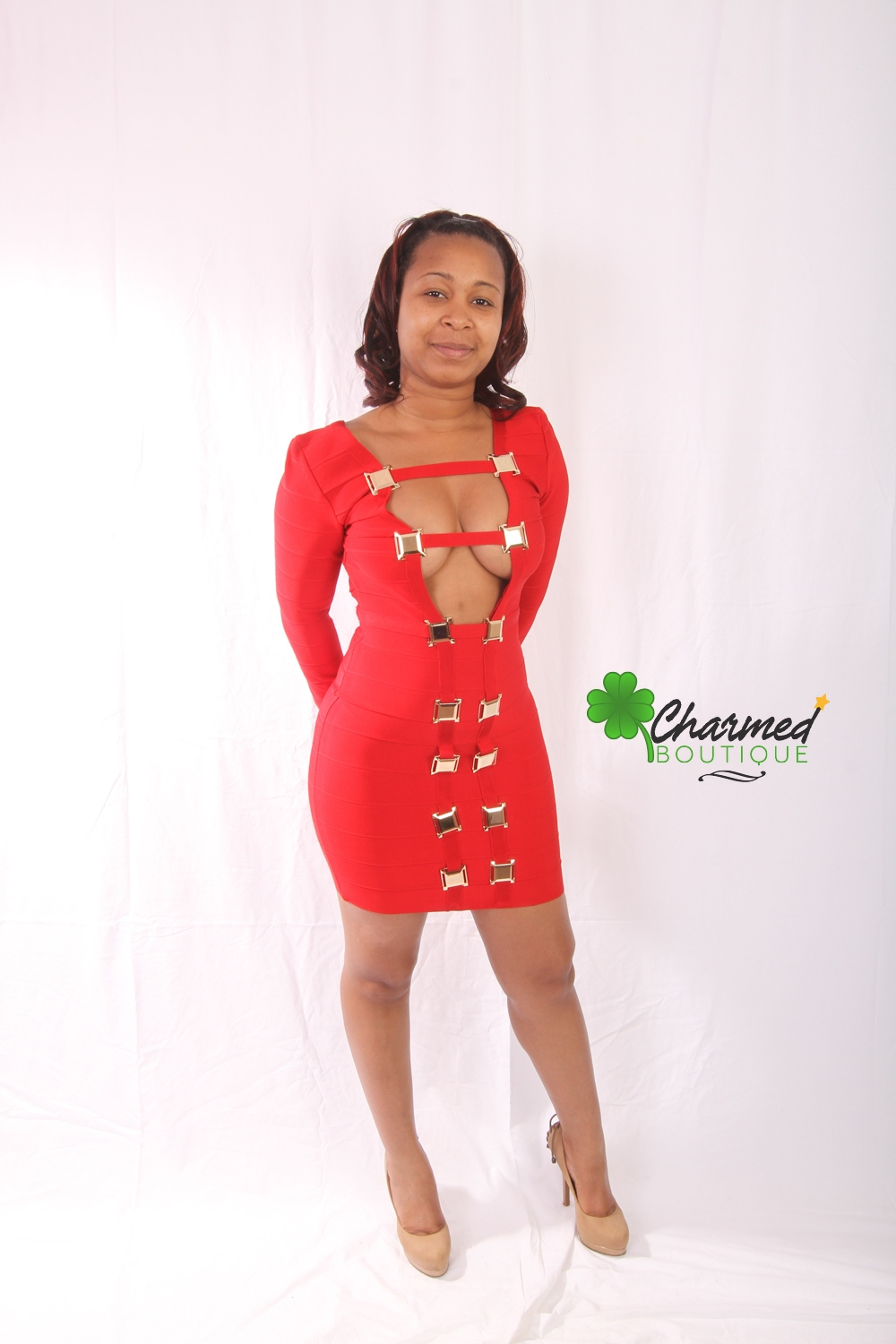 Sexy Red Dress · Charmed Boutique · Online Store Powered by Storenvy b535c7276