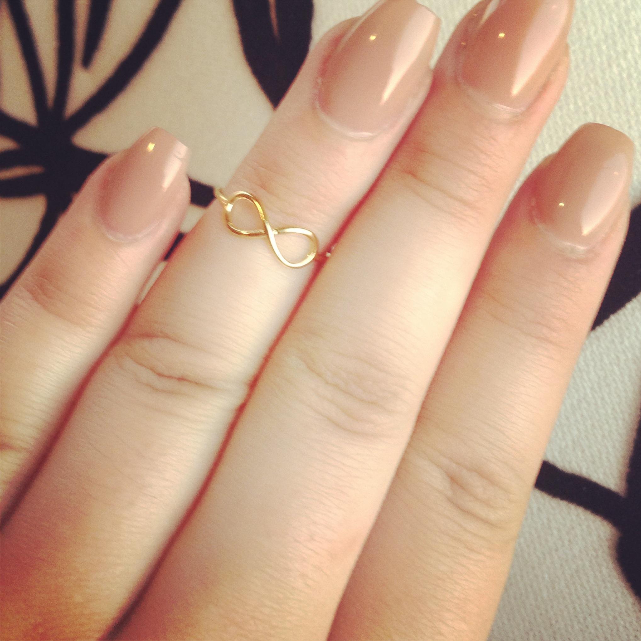 infinity midi ring