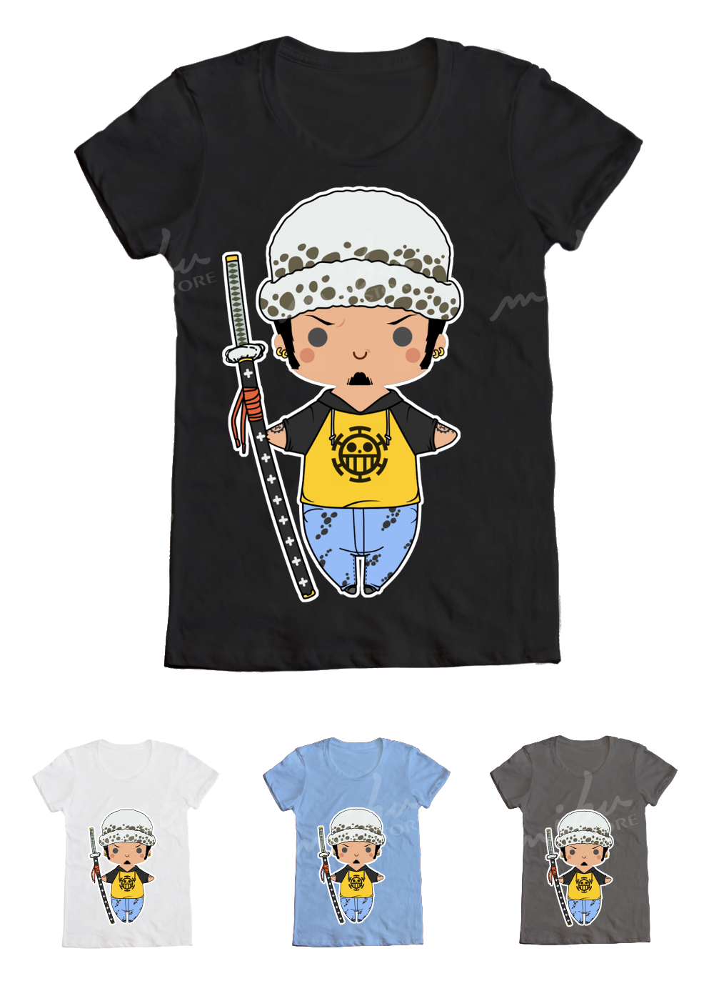 Mibustore Custom T Shirts One Piece Trafalgar Law T Shirt