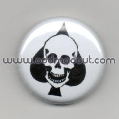 Good Night White Pride Heathen version - 1inch button - pinback