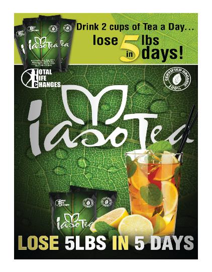 Iaso Tea Tlc Postcards 1000 On Storenvy