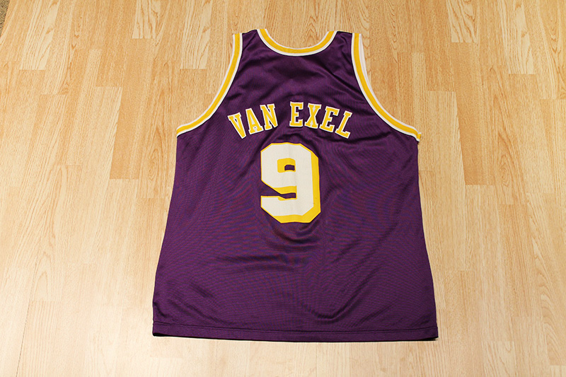 new product 7a48c 916b2 Nick Van Exel Lakers Jersey from SLAM! Vintage