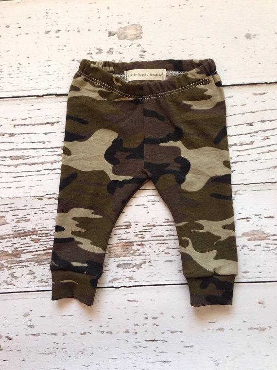 cb54fc4899aa3 Camo Baby + Toddler leggings · Little Nugget Republic ® · Online ...