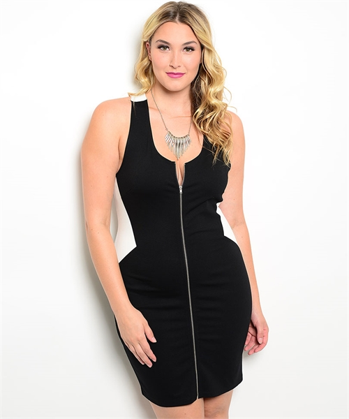 Easy Access Bodycon Plus Size Dress sold by StayReady Styles