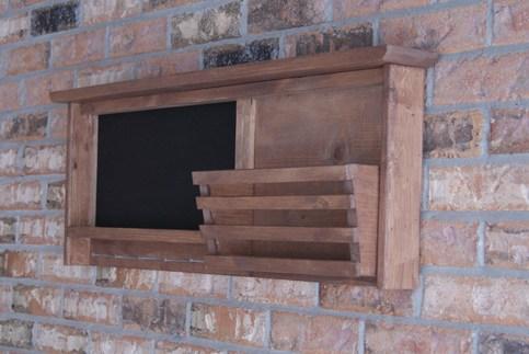 Rustic Chalkboard Magnetic Chalkboard In Rustic Reclaimed