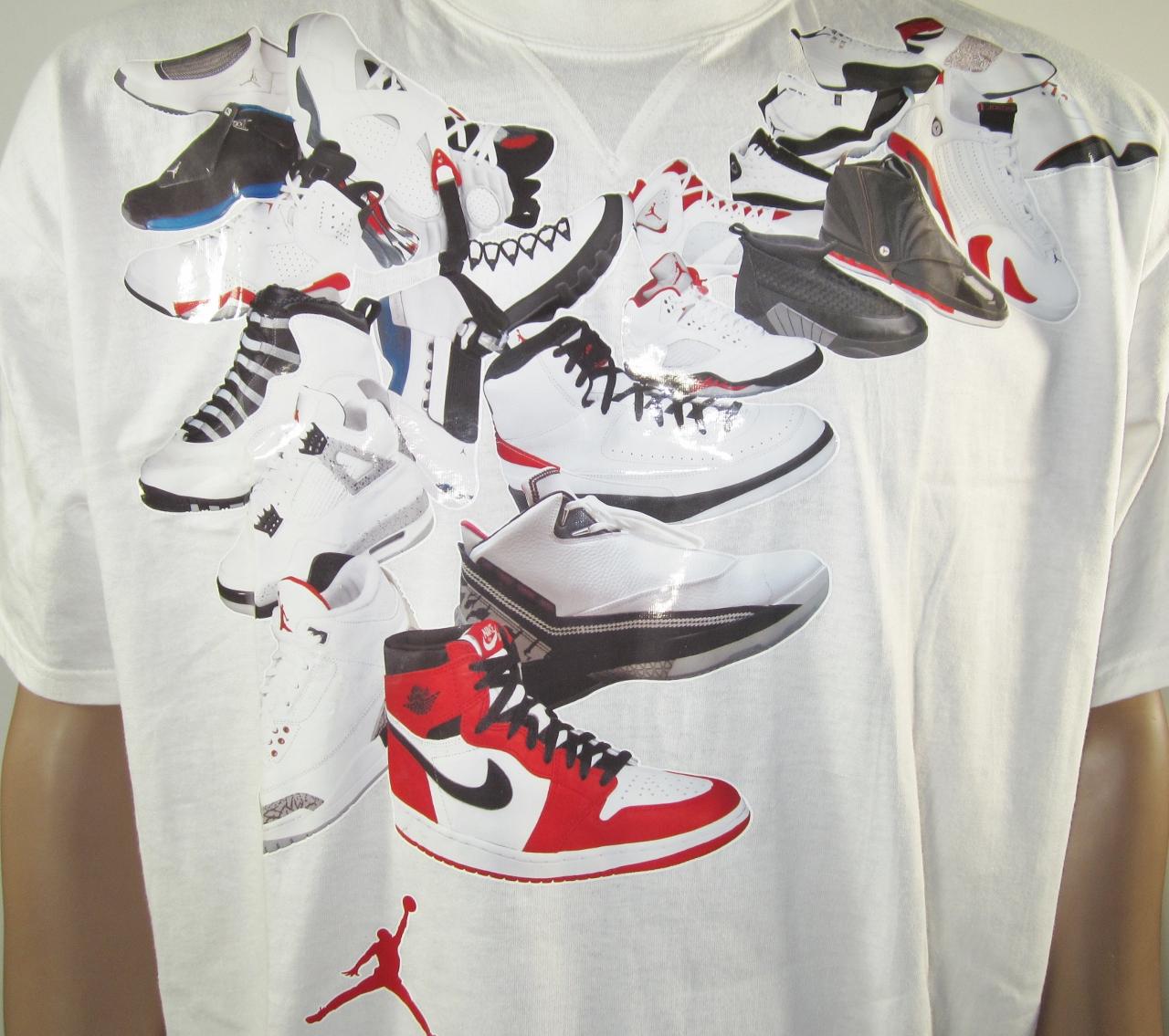 Nike Air Jordan Images Sur Les Chemises