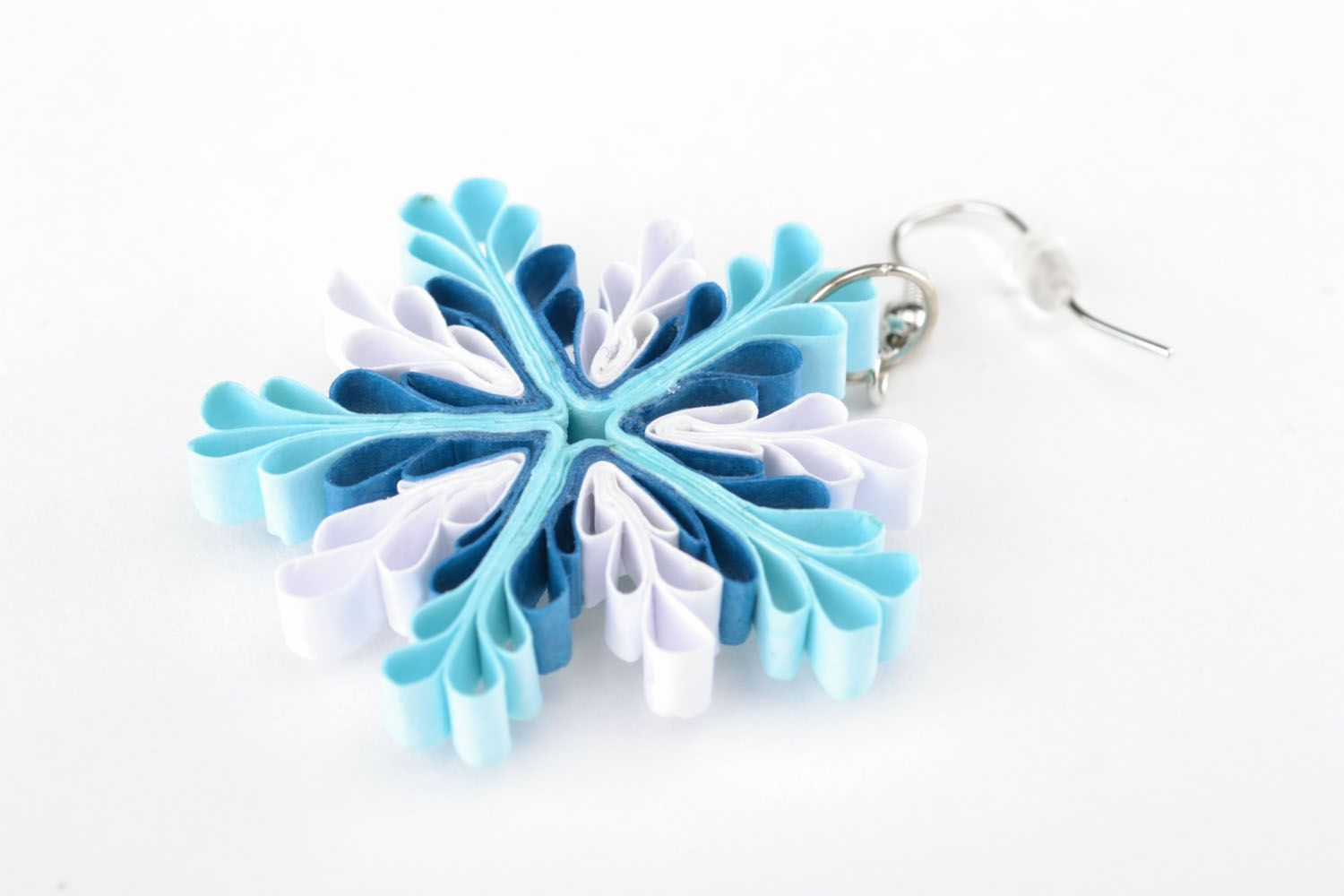 1f53db20e Quilling earrings with charms on Storenvy